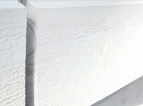 Factory-painted and quality-assured external cladding