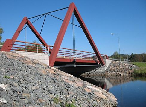 Carbon footprint of bridge project