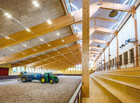Riding hall in Linköping
