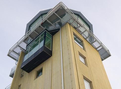 Skellefteå Airport control tower