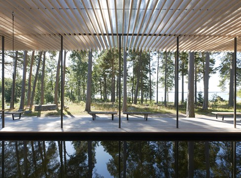 Tomtebo forest sauna
