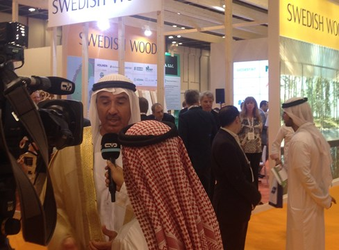 Excellent interest in Swedish wood in the Middle East
