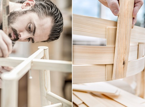 DesigninPine - Nine new furniture designs promote pine in Sweden and China
