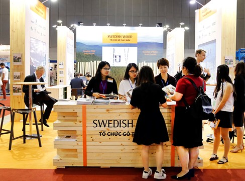 The Swedish sawmill industry sees big potential to support the fast-growing Vietnamese wood processing industry