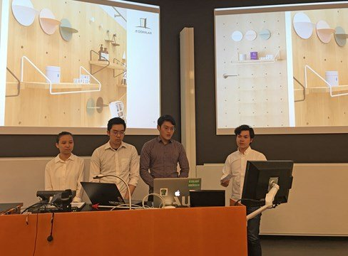 Singaporean students at KTH Royal Institute of Technology identify new applications for Swedish pine