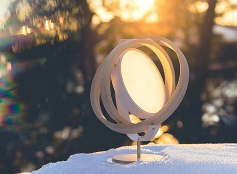 The pine lamp – a bright new take on an old favourite