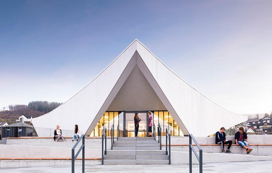Ålgård's new cultural meeting place