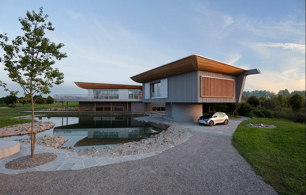Prefabrication embodies advanced design