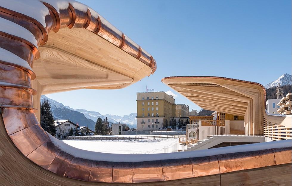 Pavilion for ice culture