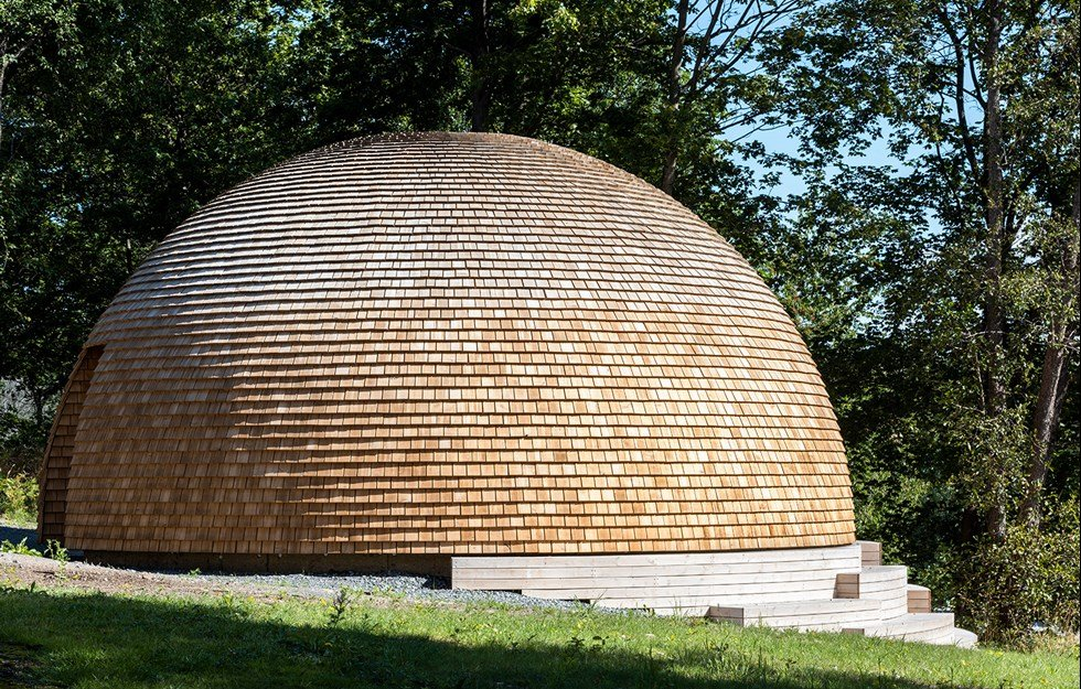 Dome with warm feel